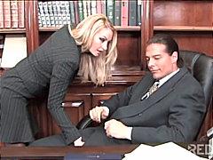 جنس: في المكتب, مص, شقراوات, زوجان