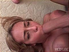 Porno: Mamada Empassant-Ho Tot, Pits Grossos, Grup De Tres, Gola Profunda