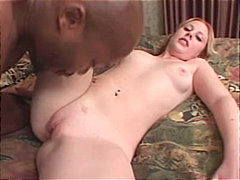 Hot young blonde loves black dicks