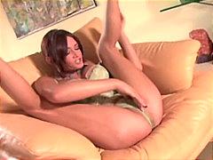 Porno: Brünetid, Pornostaar, Masturbeerimine