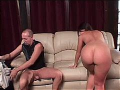 Porn: Masturbacija, Latinka, Pobrita, Par