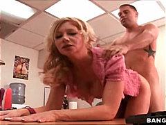 جنس: مراهقات, شقراوات, في المكتب, زوجان