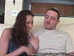 جنس: نكاح اليد, مص, قضيب كبير, زوجان
