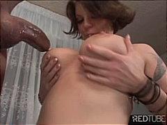 Porn: Par, Fafanje, Velik Kurac, Rjavolaska