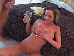 Porno: Anālais, Spermas Rīšana, Ejakulēšana Pežā, Izskūtās