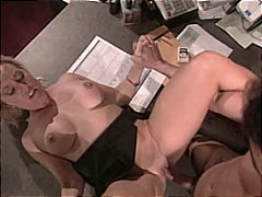 Porn: V Pisarni, Fafanje, Blondinka, Par