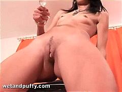 Porno: Solo, Brunetes, Meitenes, Maksts