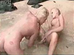 Bold: Blonde, Daliri, Beach, Oral Sex
