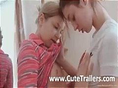 Porno: Lesbisch, Tiener, Vingeren, Lesbisch