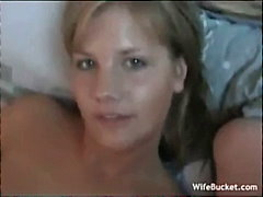Porno: Paar, Kodus, Naine, Blondid