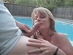 جنس: أوروبى, في العلن, مص, حمام السباحة