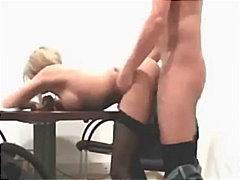 Porn: Nogavice, Amaterji, Amaterski Pornič, Blondinka