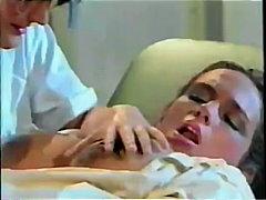 Porr: Sjuksköterska, Vintage, Fetisch, Oralt
