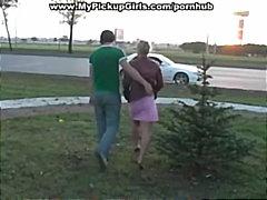 جنس: في العلن, أوروبى, في السيارة, خارج المنزل