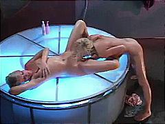 Porno: Mokre, Blondynki, Prysznic, Oralny