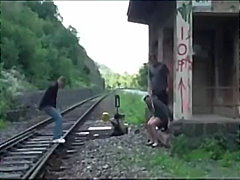 Careful with the train