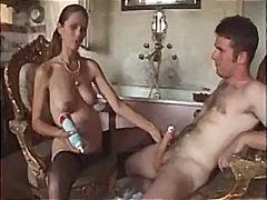 جنس: السمراوات, أفلام منزلية, وضعية الكلب, نيك البزاز
