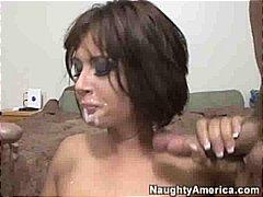 Porno: Leche En La Cara , Esperma, Chupando, Corridas