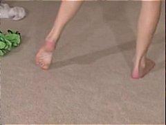 პორნო: სპერმის ამონთხვევა, ფეხის ფეტიში