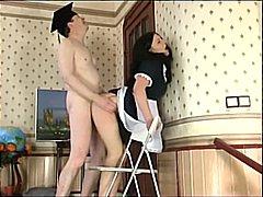 Porn: अधेड़ औरत, मुखमैथुन, मुह में, मिल्फ़