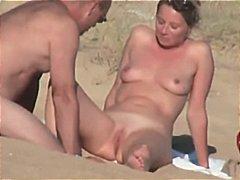 Porno: Paslėpta Kamera, Pora, Paplūdimyje, Prancūzės