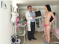 جنس: طبيبات, مراهقات, الطبيب, منظار
