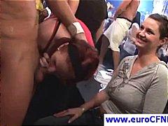 جنس: حفلة, مص, أوروبى, في العلن