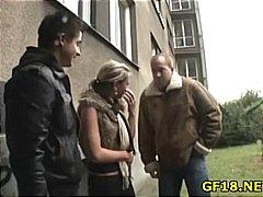 Porn: Najstnica, Fafanje, Amaterji, Študentka