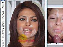 جنس: مرح, إمناء على الوجه, مشاهير