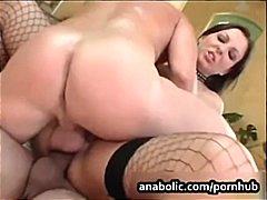 Porn: नकली लंड, तीन प्रतिभागियों का सम्भोग