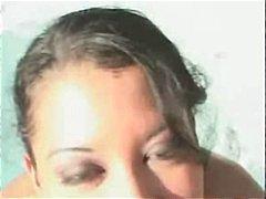 Porr: Ansiktsprut, Utomhus, Brunett, Tonåringar