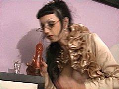 secrétaire anal poilue