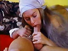 Porr: Hårig, Brunett, Vintage