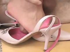pinke heels