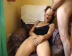 Porn: Amaterji, Starejše Ženske, Zunanji Izliv
