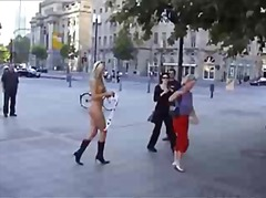 offentlig naken