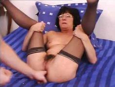 abuelitas anal