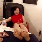 جنس: آسيوى, أفلام خاصة, حب الأرجل