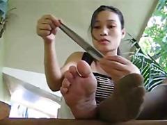 جنس: آسيوى, نيك جامد, حب الأرجل