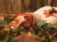 Lucah: Porno Softcore, Rambut Merah, Gadis
