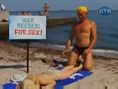 Porn: Na Plaži, Skrita Kamera, Smešno