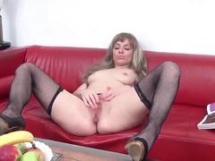 Porn: Masturbacija, Pička, Postelja, Starejše Ženske