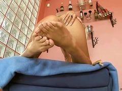 포르노: 발페티시, 금발미녀, 놀리기, 발페티시