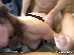 Porn: Globoko Grlo, Fafanje, Pobrita, Gangbang