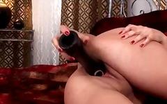 Porno: Masturbacija, Iš Arti, Natūralūs Papai, Dirbtinė Varpa