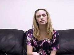 Porno: Dīvāns, Blondīnes, Kastings, Orālais Sekss