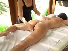 Triple orgam massage