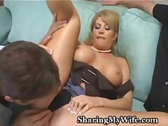 Porno: Svingeri, Orālais Sekss, Blondīnes, Maksts