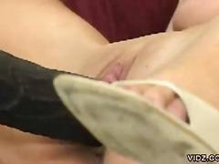 Porno: Rubia, Oral, Juguetes