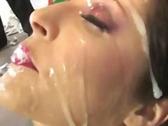 Porno: Grupáč, Vyvrcholení, Různé Rasy, Felace